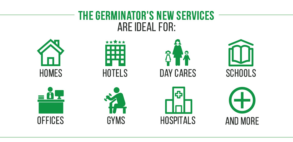 Picture of Facilities Germinator Provides Sanitizing and Disinfecting Services